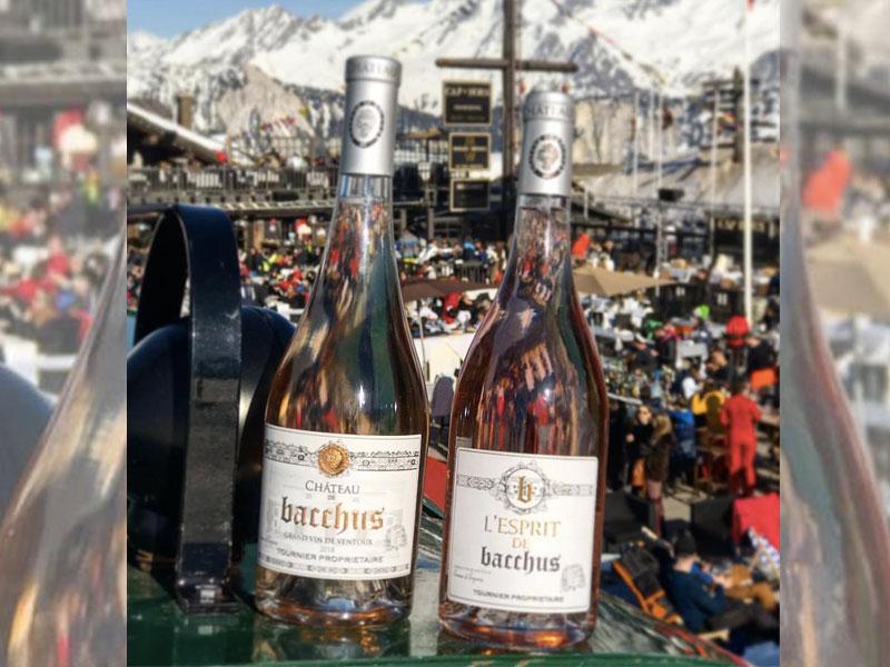 Bacchus rosé 2018